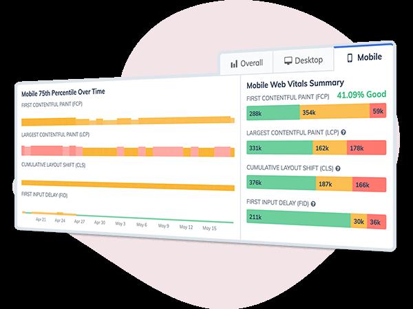 Web Vital Performance Metrics